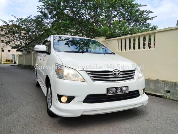 2014 Toyota Innova 2.0 G Spec  Toyota Innova  Toyota  Johor Bahru (JB), Malaysia, Skudai Dealer, Supplier, Supply Supplies | Carwins Automobile (M) Sdn Bhd