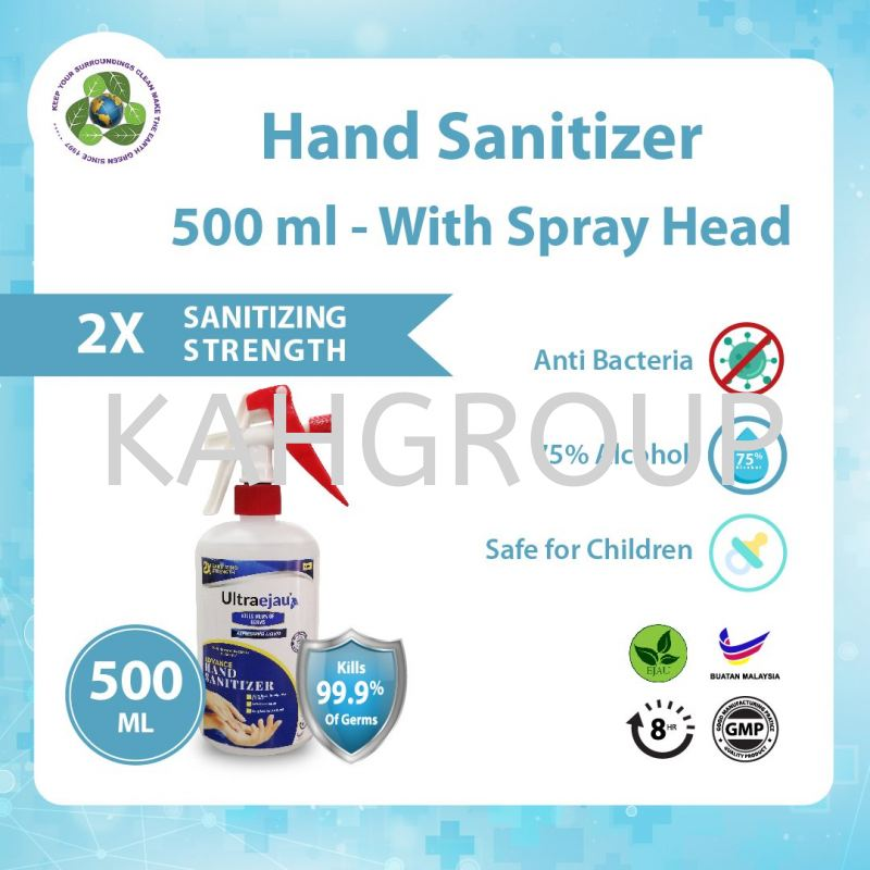 Hand Sanitizer 500ML Spray Head