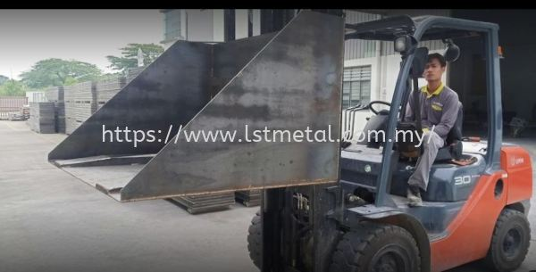 Forklift Bucket Forklift Bucket Johor Bahru (JB), Malaysia, Senai Supplier, Manufacturer, Supply, Supplies | Lasertech Metal Engineering