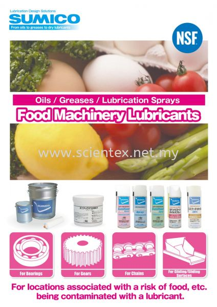 Food Machinery Lubricants Lubrication Sprays Sumico Lubrication Design Solutions Perak, Malaysia, Menglembu Supplier, Distributor, Supply, Supplies | Scientex Engineering & Trading Sdn Bhd