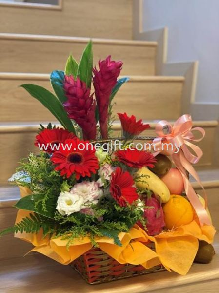 FF32 Flower and Fruit Basket Flower and Gift Malaysia, Selangor, Kuala Lumpur (KL), Shah Alam Supplier, Suppliers, Supply, Supplies   The One Gift Gallery Sdn Bhd