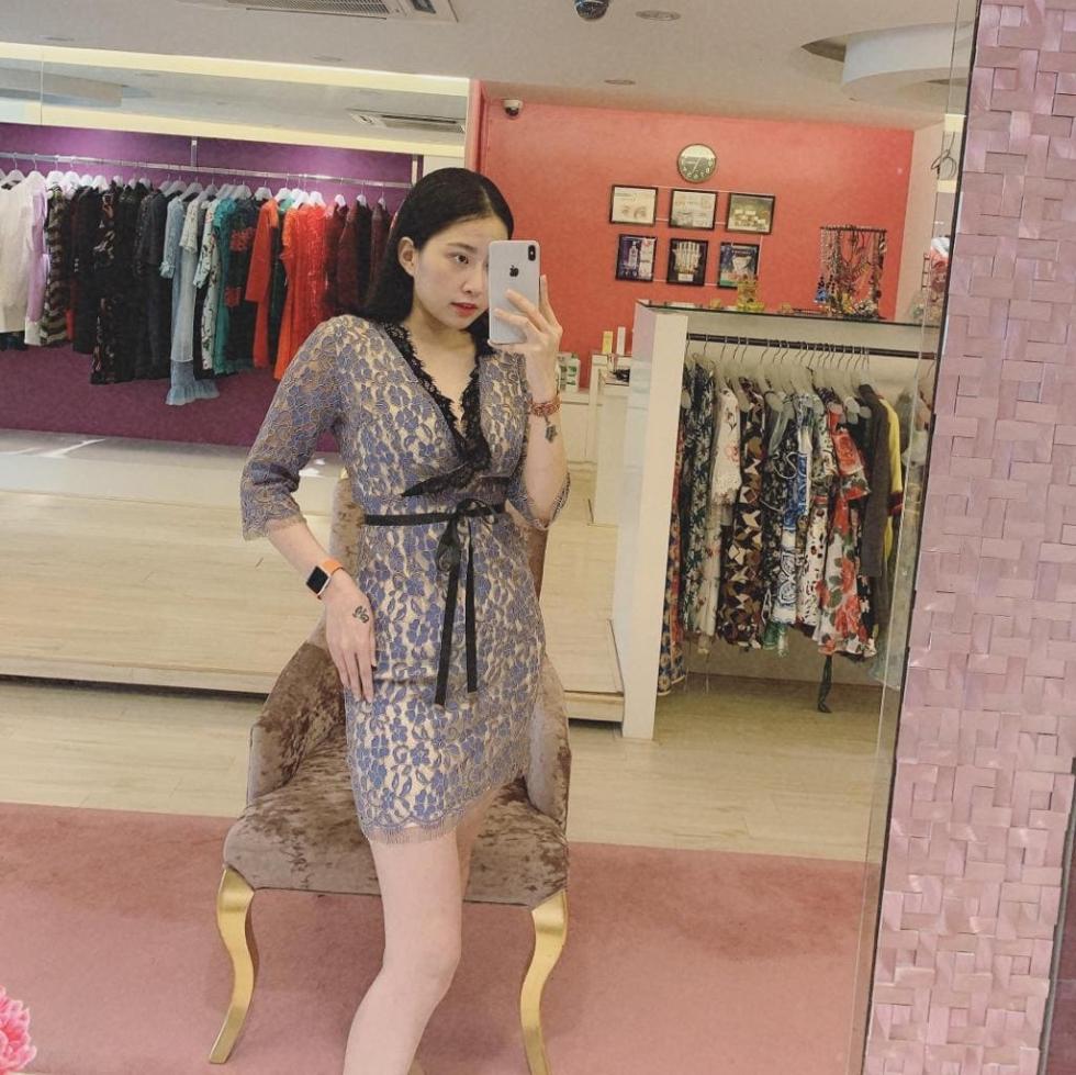 PADDING蕾丝洋装