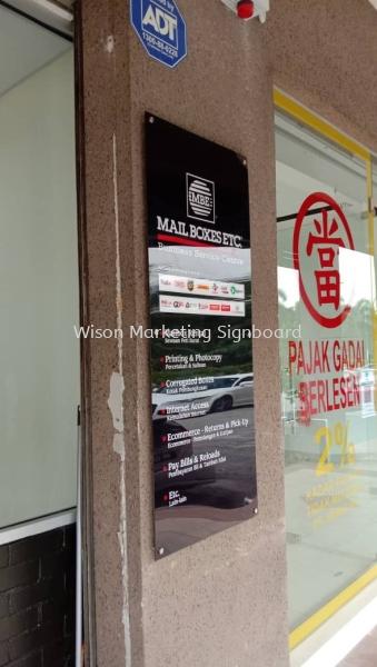 Acrylic Signage  Acrylic Signage  Selangor, Malaysia, Kuala Lumpur (KL), Sungai Buloh Supplier, Installation, Supply, Supplies | Wison Marketing