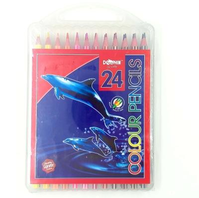 Dolphin Colour Pencil 24 Colors