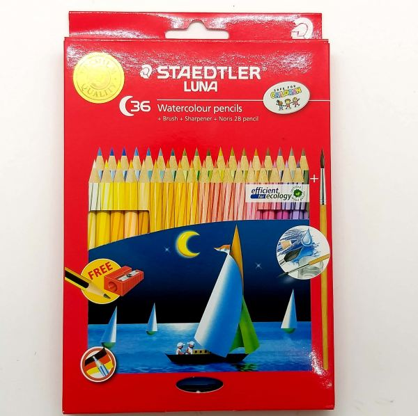 Staedtler Luna Color Pencil ABS 36 Colors Long Color Pencils Art Supplies Stationery & Craft Johor Bahru (JB), Malaysia Supplier, Suppliers, Supply, Supplies | Edustream Sdn Bhd