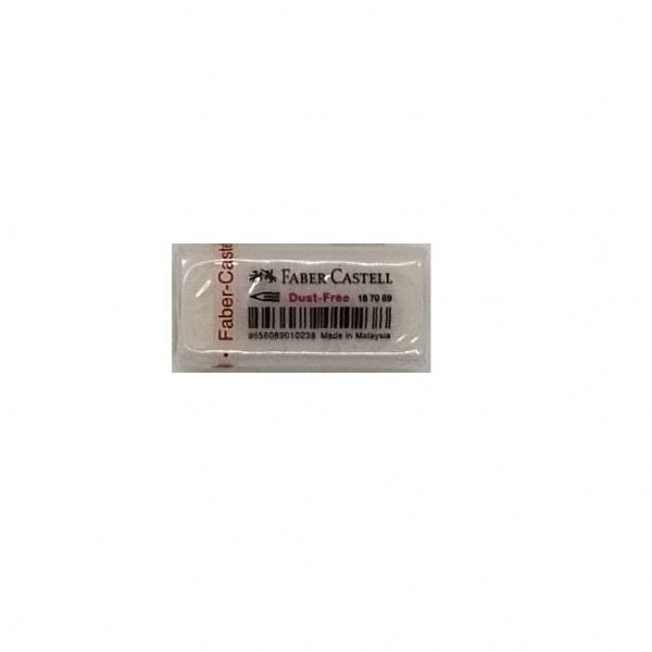 Faber Castell Dust Free 187089 Eraser - Small (48 Pieces) Eraser Writing & Correction Stationery & Craft Johor Bahru (JB), Malaysia Supplier, Suppliers, Supply, Supplies   Edustream Sdn Bhd