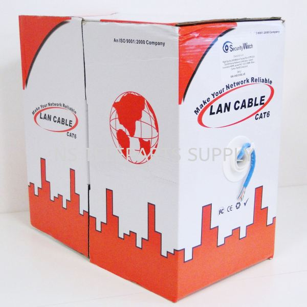 CAT 6 UTP CABLE (CCA) 305 METER Network Cable Cable Products Seremban, Malaysia, Negeri Sembilan Supplier, Suppliers, Supply, Supplies | NS Teleparts Supply