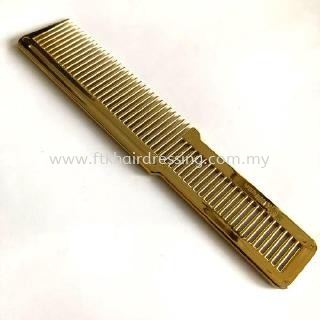Wahl Professional Clipper Styling Comb Metallic Gold Brush / Cutting Comb Barber Tools Malaysia, Pahang Supplier, Suppliers, Supply, Supplies | FTK MAJU TRADING (M) SDN BHD
