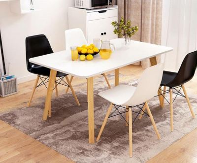 Parfait Creative Dining Table ONLY With Hevea Melamine Board