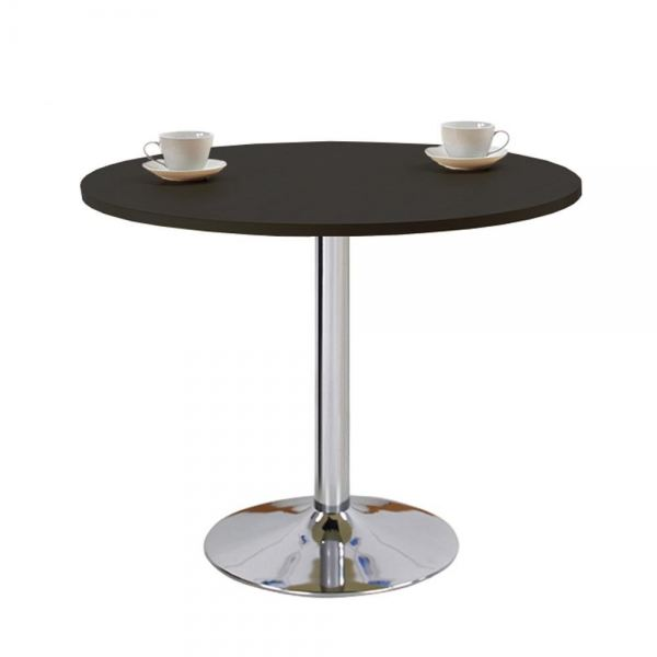 Simple Chrome Leg Round Dining Table 110D/80D Office Table Office Furniture Malaysia, Selangor, Kuala Lumpur (KL) Supplier, Suppliers, Supply, Supplies | Like Bug Sdn Bhd