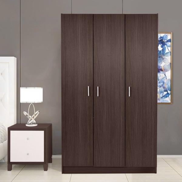 3 Door Camille Espresso Water Resistant Wooden Wardrobe Cabinet Rack & Shelf Home & Living Malaysia, Selangor, Kuala Lumpur (KL) Supplier, Suppliers, Supply, Supplies | Like Bug Sdn Bhd