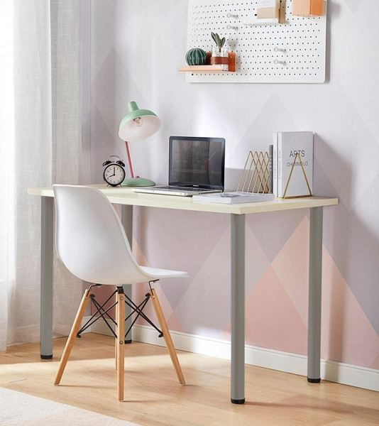 Simple Office Furniture Study Table - White Office Table Office Furniture Malaysia, Selangor, Kuala Lumpur (KL) Supplier, Suppliers, Supply, Supplies | Like Bug Sdn Bhd