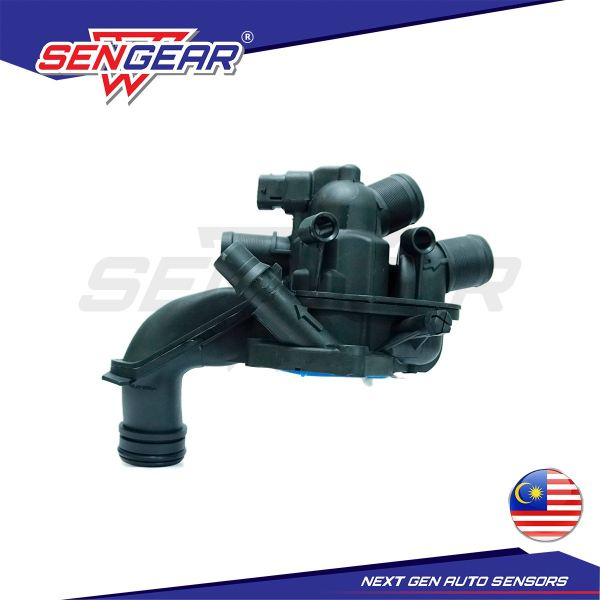 Peugeot 308 T9 3008 (2012) 208 Thermostat Housing With Sensor Thermostat Housing Kuala Lumpur (KL), Malaysia, Selangor, Kepong Supplier, Suppliers, Supply, Supplies   TPM Machinery Sdn Bhd
