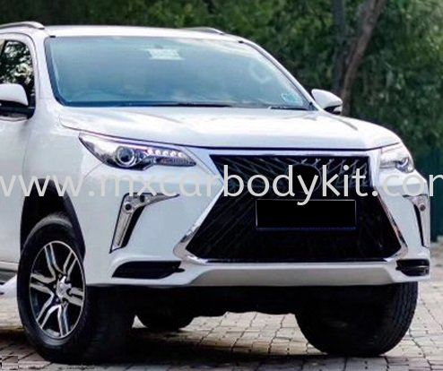 TOYOTA FORTUNER 2015 - 2018 LX TR LOOK FRONT BUMPER WITH GRILLE FORTUNER 2015 - 2018 TOYOTA Johor, Malaysia, Johor Bahru (JB), Masai. Supplier, Suppliers, Supply, Supplies | MX Car Body Kit