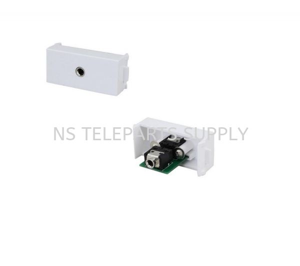 3.5 MM AUDIO F/F  Face Plate Converter Seremban, Malaysia, Negeri Sembilan Supplier, Suppliers, Supply, Supplies | NS Teleparts Supply