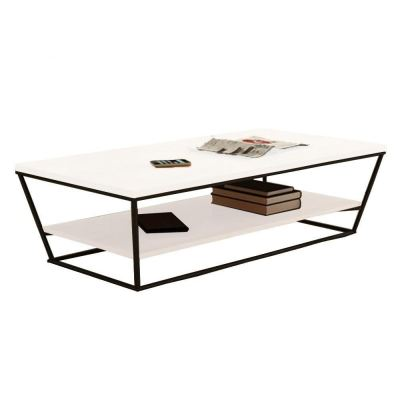 Bellisima Vertical Double Layer Coffee Table