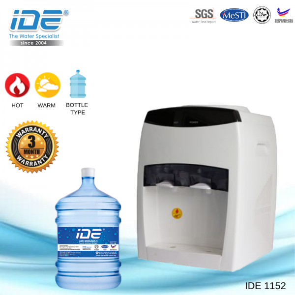 IDE 1152 Bottle Type Dispenser (Hot&Normal) Bottle Type Water Dispenser Johor Bahru JB Malaysia Supply, Supplier & Wholesaler | Ideallex Sdn Bhd