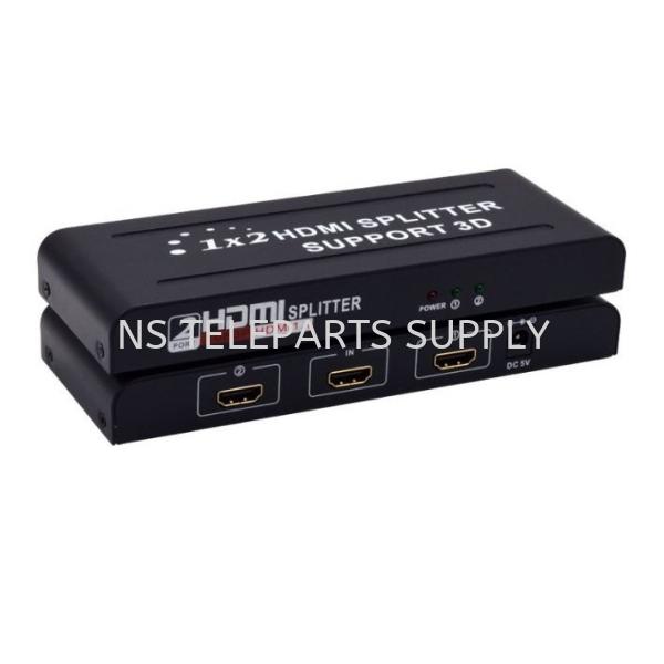 FJGEAR HDMI SPLITTER 2 PORT MODEL NO : HD102 Splitter Construction Products Seremban, Malaysia, Negeri Sembilan Supplier, Suppliers, Supply, Supplies | NS Teleparts Supply