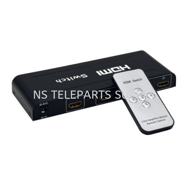 FJGEAR HDMI SWITCH 3 PORT MODEL NO : HD301 Switch Construction Products Seremban, Malaysia, Negeri Sembilan Supplier, Suppliers, Supply, Supplies | NS Teleparts Supply