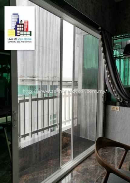 Mosquito Netting.Sliding & Folding Screen Sliding & Folding Screen Mosquito Netting Selangor, Malaysia, Kuala Lumpur (KL), Puchong, Shah Alam Supplier, Suppliers, Supply, Supplies | Zen Home Decor