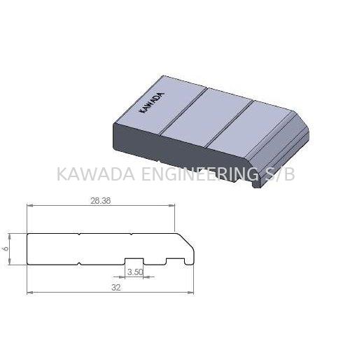 PCB Conveyor Profile (Cover) PCB CONVEYOR SERIES Aluminium Profile Johor Bahru (JB), Malaysia, Ulu Tiram Supplier, Distributor, Supply, Supplies | Kawada Engineering (M) Sdn Bhd