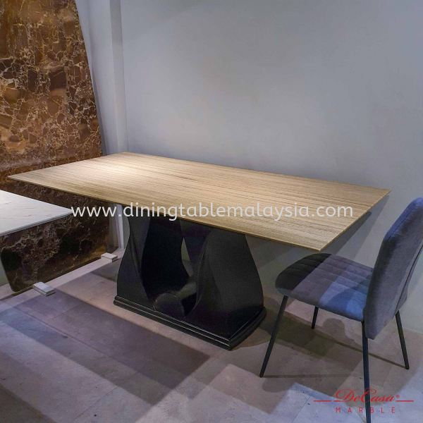 Palisandro | Italy | 6 Seaters | Dining Table Only | RM2,999 Marble Dining Table Promotion / Clearance Item  Malaysia, Selangor, Kuala Lumpur (KL), Petaling Jaya (PJ) Supplier, Suppliers, Supply, Supplies | DeCasa Marble Sdn Bhd