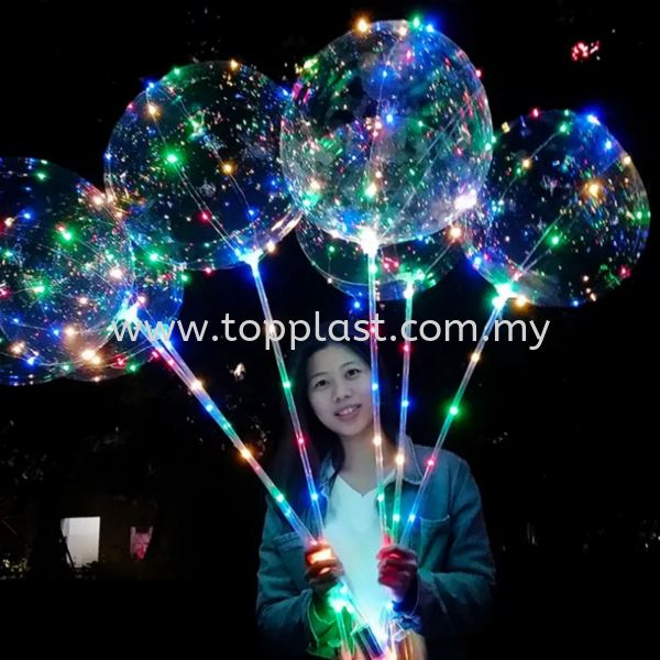 LED Balloon Party Use Penang, Malaysia Supplier, Suppliers, Supply, Supplies | Top Plast Enterprise