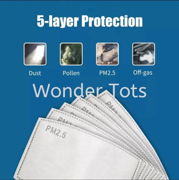 5- Layer Mask Filter Others Selangor, Shah Alam, Malaysia, Kuala Lumpur (KL) Wholesale, Supplier, Retailer | Wise Tots Toys Enterprise