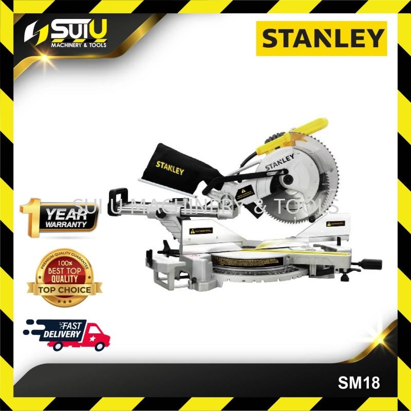 "STANLEY SM18 SLIDING MITRE SAW 10"" 254MM 1800W 4800RPM"