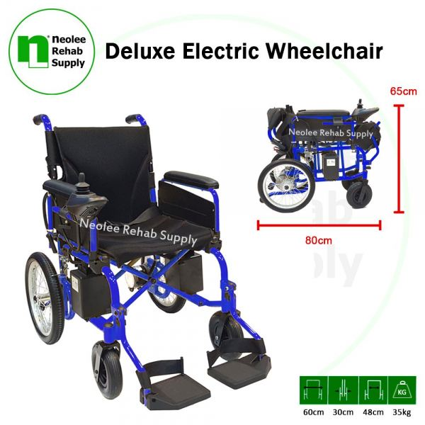 NL-LK806A Deluxe Electric Wheelchair  Electric Wheelchairs Wheelchairs Kuala Lumpur, KL, Cheras, Selangor, Malaysia. Supplier, Suppliers, Supplies, Supply | Neolee Rehab Supply Sdn Bhd