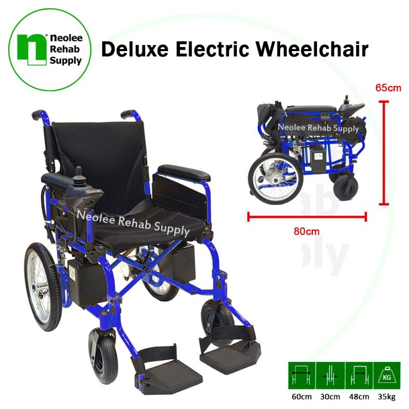 NL-LK806A Deluxe Electric Wheelchair