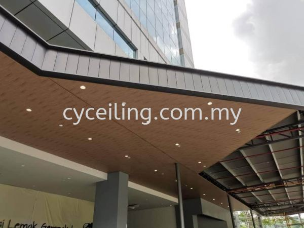 Aluminium Strip Ceiling  Selangor, Malaysia, Kuala Lumpur (KL), Puchong Contractor, Supplier, Supply | CY Ceiling & Renovation