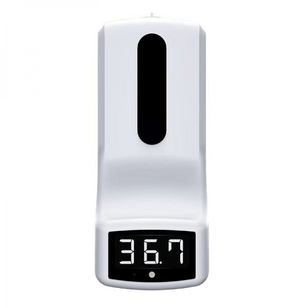 K9 Automatic 450 Ml Pump Thermometer Hand-Sanitizer ABS Hand Sanitizer Dispenser with Sensor  INFRARED THERMOMETER ESSENTIAL PRODUCTS Kuala Lumpur (KL), Selangor, Malaysia Supplier, Suppliers, Supply, Supplies | JFix Solutions Sdn Bhd