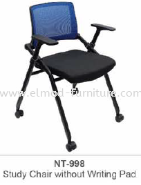 NT-998 STUDY CHAIR WITHOUT WRITING PAD Foldable Chairs Training Chairs  Selangor, Kuala Lumpur (KL), Puchong, Malaysia Supplier, Suppliers, Supply, Supplies   Elmod Online Sdn Bhd