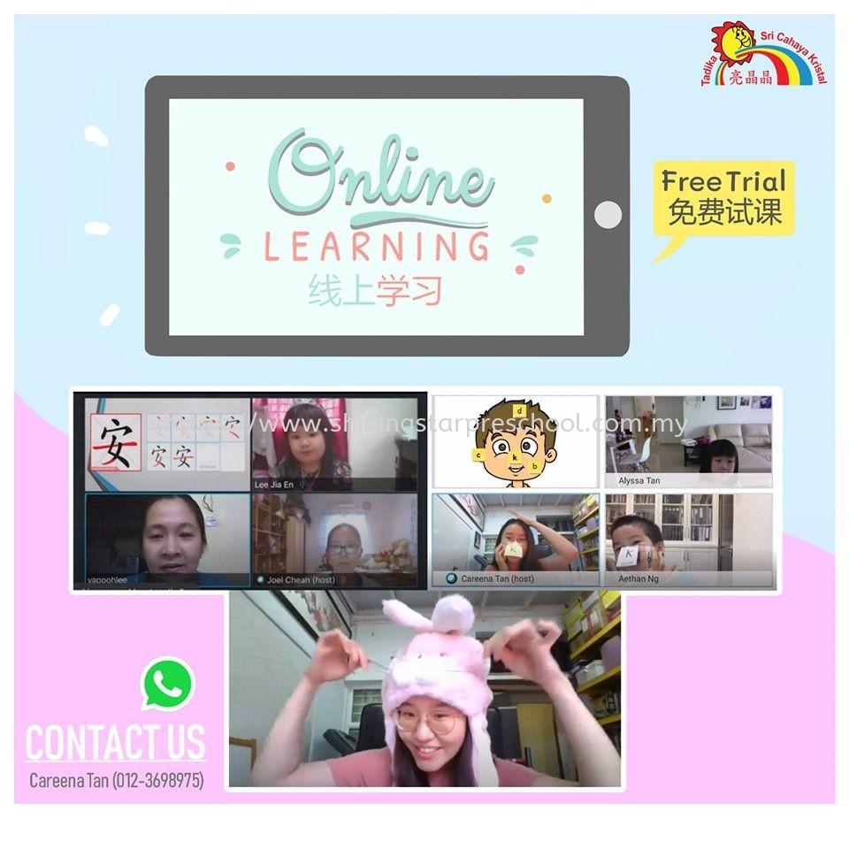 Kindergarten Online Learning Online Teaching Selangor, Petaling Jaya (PJ), Malaysia, Kuala Lumpur (KL) Centre | Shining Star Preschool