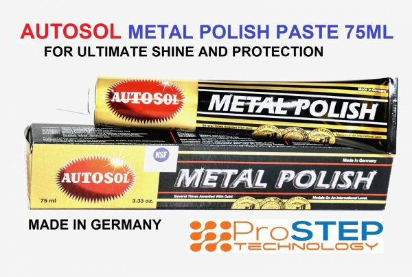 AUTOSOL Metal Polish Paste 75ml Hardware Parts & Accessories Malaysia, Penang Manufacturer, Supplier, Supply, Supplies | Prostep Technology Sdn Bhd