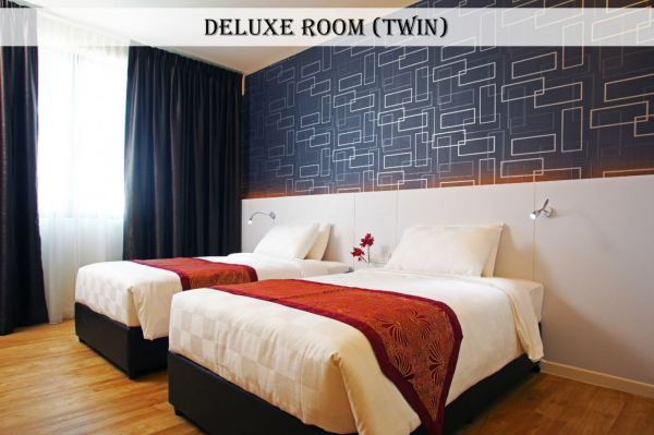 Deluxe Twin  Hotel Rooms Kuala Lumpur (KL), Malaysia, Selangor, Jalan Ipoh Hotel | Cairnhill Hotel (M) Sdn Bhd