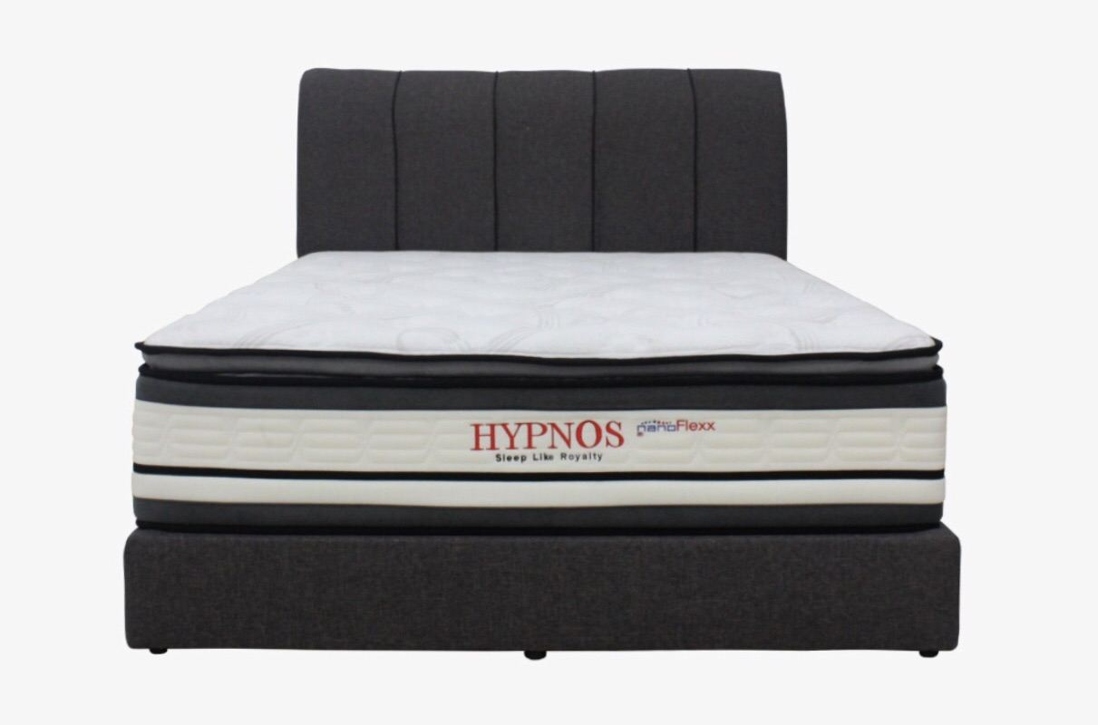 (LAV 028Q) Nanoflexx Hypnos Queen Size Pocket Spring(14 Inch) Mattress-¡®¡¯Bedframe not included¡¯¡¯
