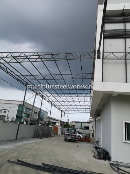 Steel Roofing Structure Steel Roof Structure Selangor, Malaysia, Kuala Lumpur (KL), Klang Supplier, Suppliers, Supply, Supplies   Multiplus Steel Works Sdn Bhd
