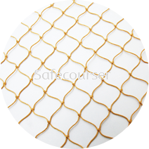 Nylon Multifilament Twisted Knotted Net
