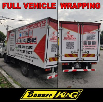 Advertise With Sticker Wrapping on Vehicle