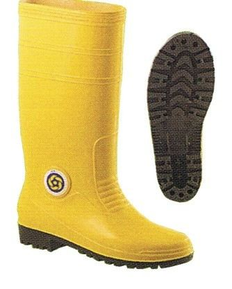Korakoh Yellow Rain Boot With Metal Rubber Boot Safety Equipment Johor Bahru (JB), Malaysia, Pulai Perdana Supplier, Suppliers, Supply, Supplies | Sinar Hardware Marketing Sdn Bhd