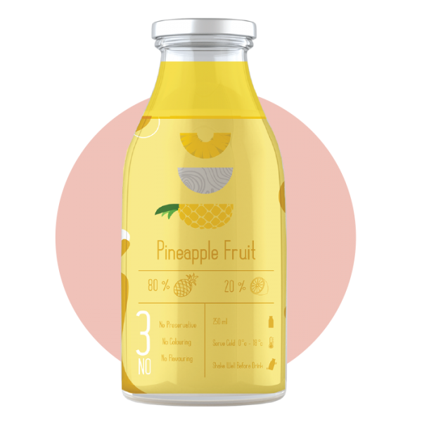 PINEAPPLE 250 ML Others Malaysia, Selangor, Kuala Lumpur (KL), Puchong Supplier, Suppliers, Supply, Supplies | Bevage