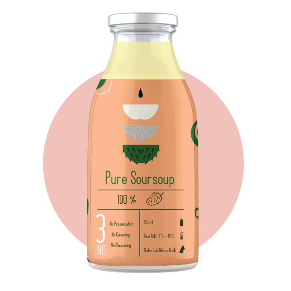 PURE SOURSOUP 250ML Others Malaysia, Selangor, Kuala Lumpur (KL), Puchong Supplier, Suppliers, Supply, Supplies | Bevage