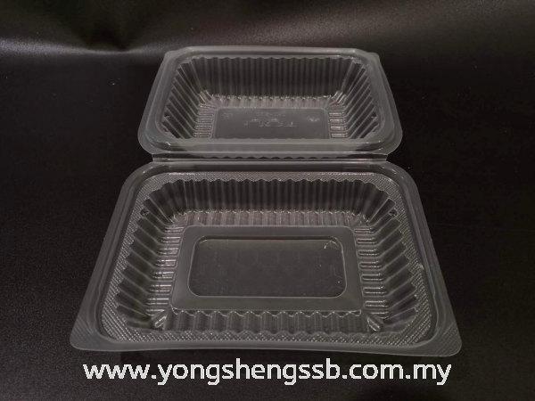 L/BOX TOLI (600PCS/CTN) Lunch Boxes Container / Plastic Cup / Bottle / Bowl / Plate / Tray / Cutleries / PET Johor Bahru (JB), Malaysia, Muar, Skudai Supplier, Wholesaler, Supply   Yong Sheng Supply Sdn Bhd