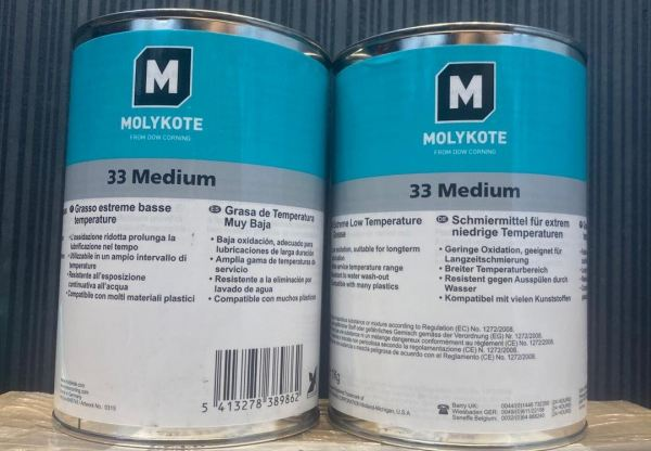 MOLYKOTE 33M LOW/NORMAL TEMP GREASE  Molykote Adhesive , Compound & Sealant Johor Bahru (JB), Johor, Malaysia Supplier, Suppliers, Supply, Supplies   KSJ Global Sdn Bhd