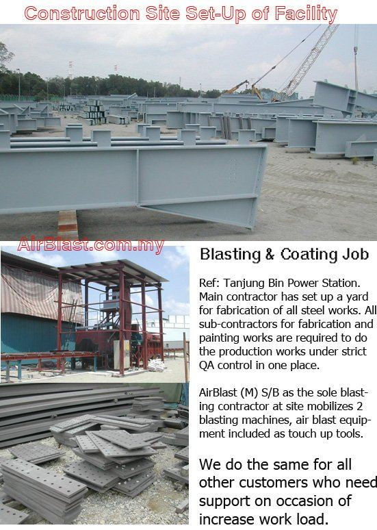 Mobilization to Contract Site MAIN SERVICES Malaysia, Negeri Sembilan, Nilai Manufacturer, Supplier, Supply, Supplies | AirBlast (M) Sdn Bhd