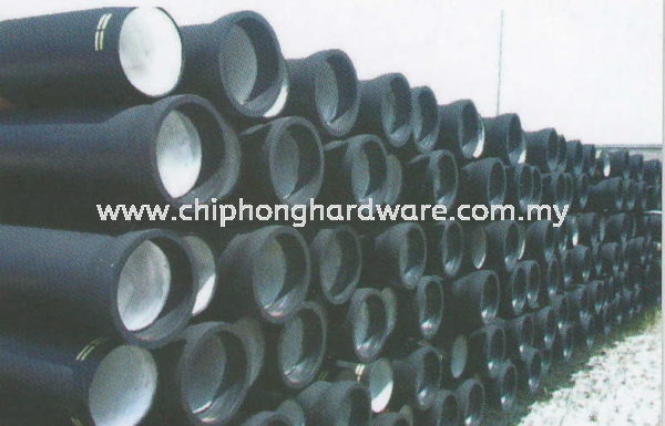 EDIP Ductile Iron Pipes and Fittings EDIP Ductile Iron Pipes & Fittings Selangor, Malaysia, Kuala Lumpur (KL), Seri Kembangan Supplier, Suppliers, Supply, Supplies | CHIP HONG HARDWARE SDN BHD