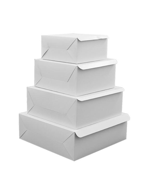 Folding Cake Box (Plain)