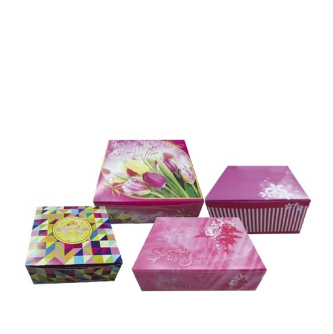Folding Cake Box (Generic Print)